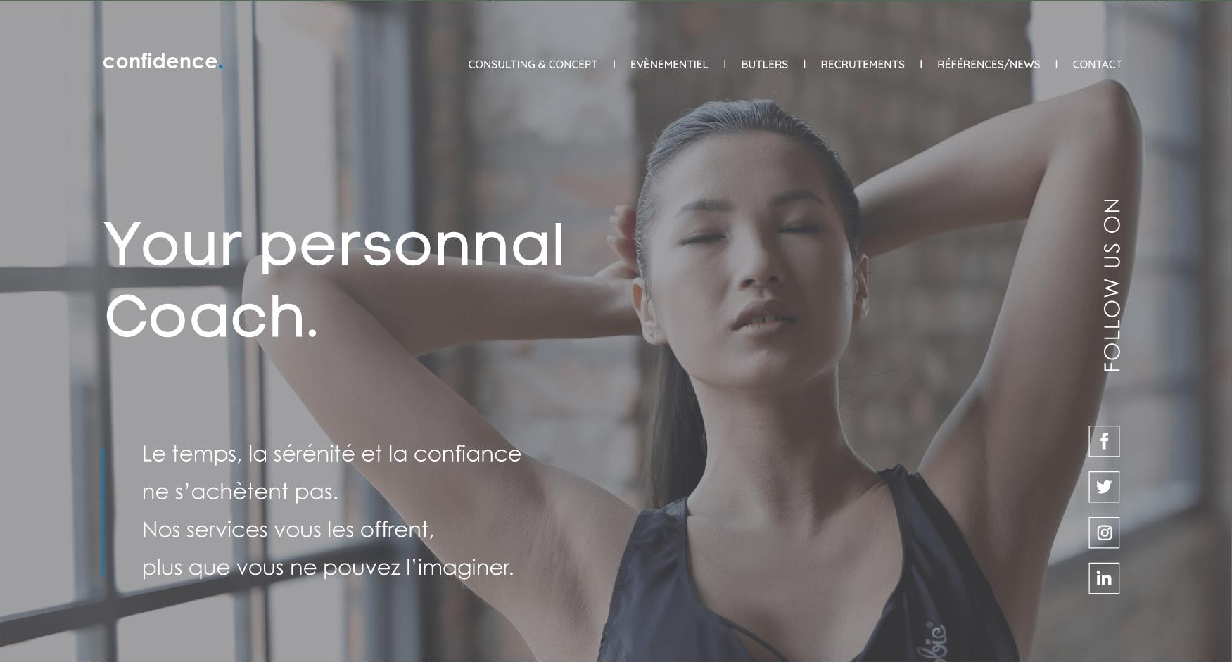 Projet de Cassian : Confidence