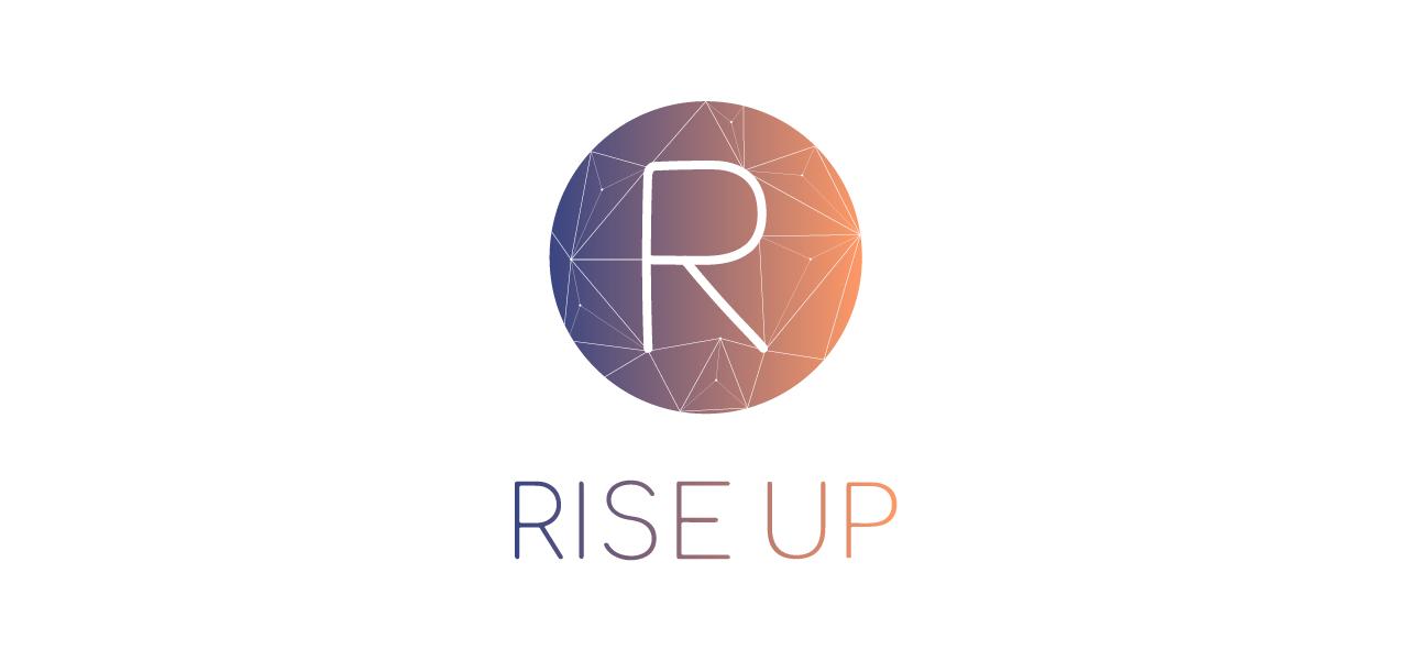 Identité visuelle pour Rise Up par l'agence Cassian