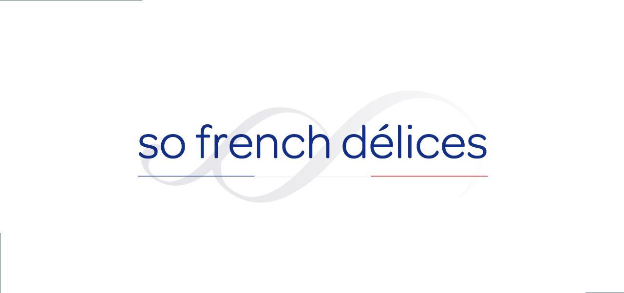 Nouvelle identité visuelle pour le festival pour So French Délices par l'agence Cassian