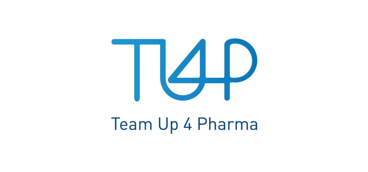 Création des packagings et de l'identité pour Team Up 4 Pharma par l'agence Cassian