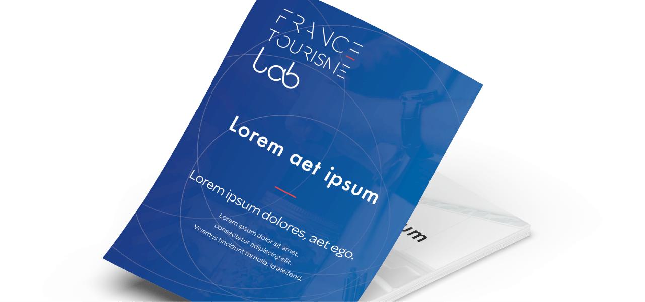 Réaliser une identité visuelle pour le réseau pour France Tourisme Lab par l'agence Cassian