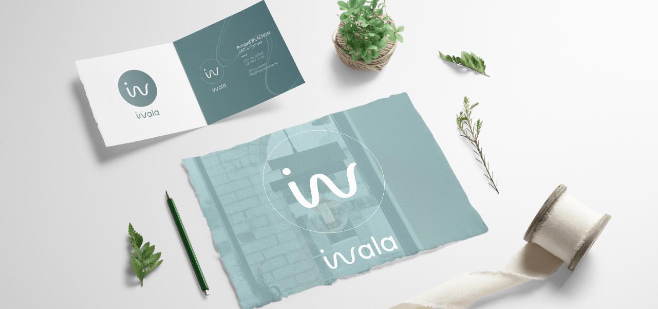 Création d'une nouvelle identité pour le lancement de la marque pour Inala par l'agence Cassian