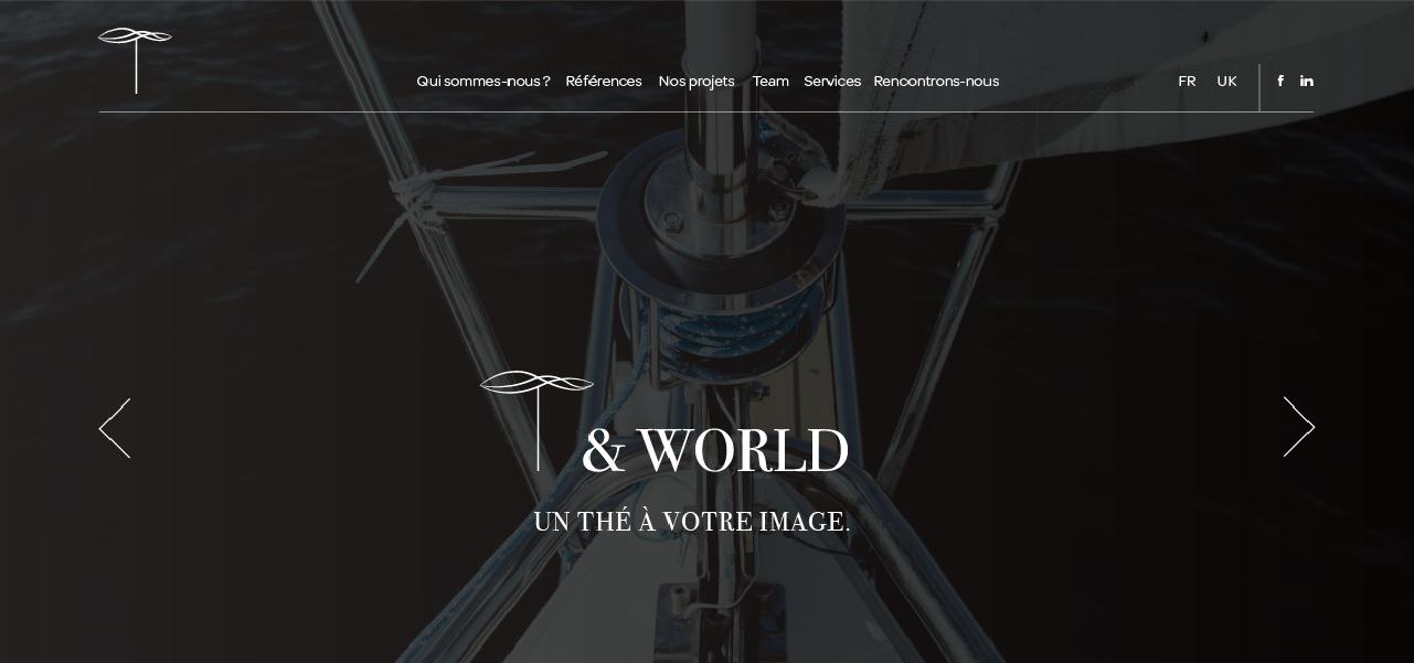 Projet pourT & World par l'agence Cassian