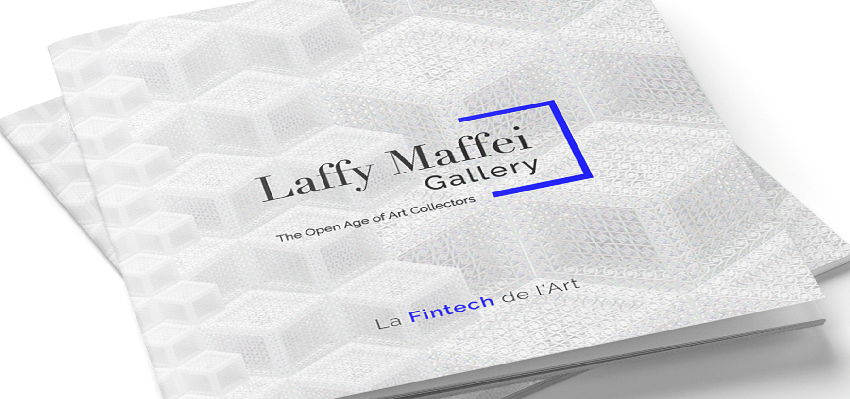 Création de l'agence Cassian pour Laffy Maffei Gallery