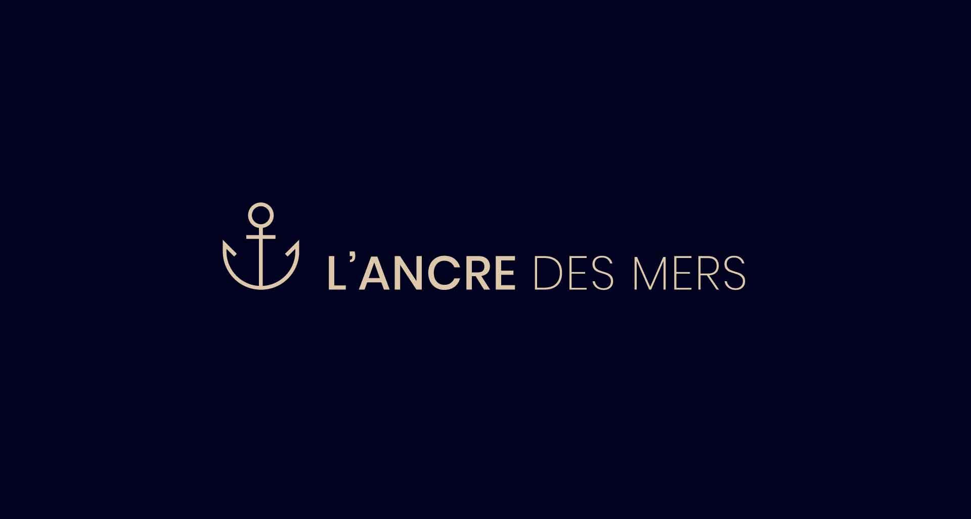 Refonte de l'identité visuelle pour L'ancre des mers par l'agence Cassian