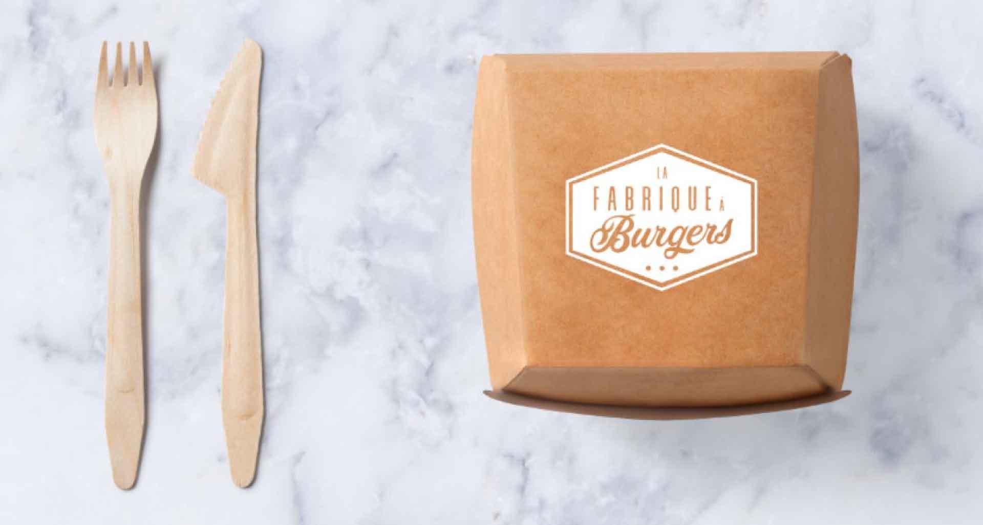 Projet pourLa Fabrique à Burger par l'agence Cassian