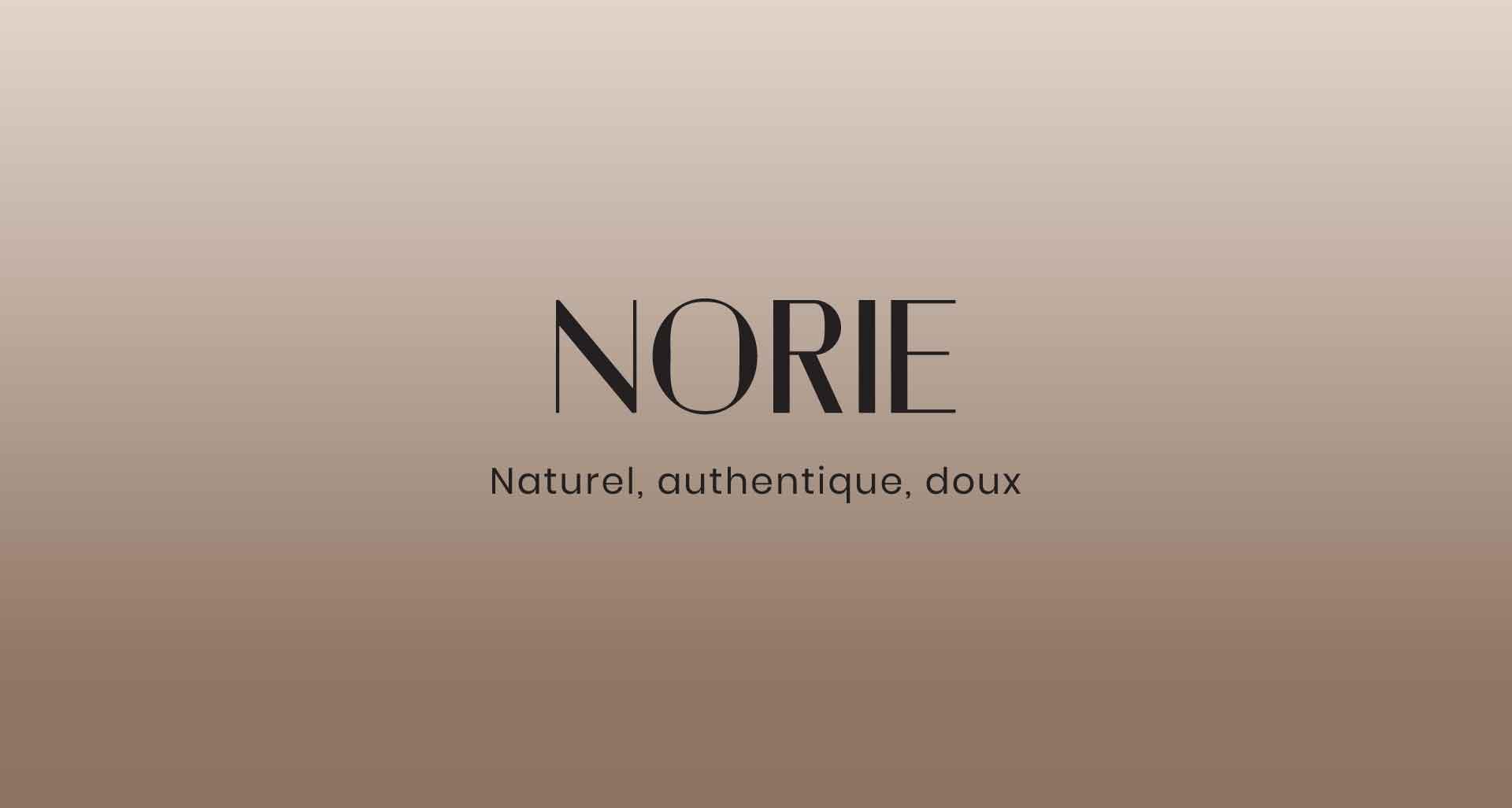 Site internet pour Norie par l'agence Cassian