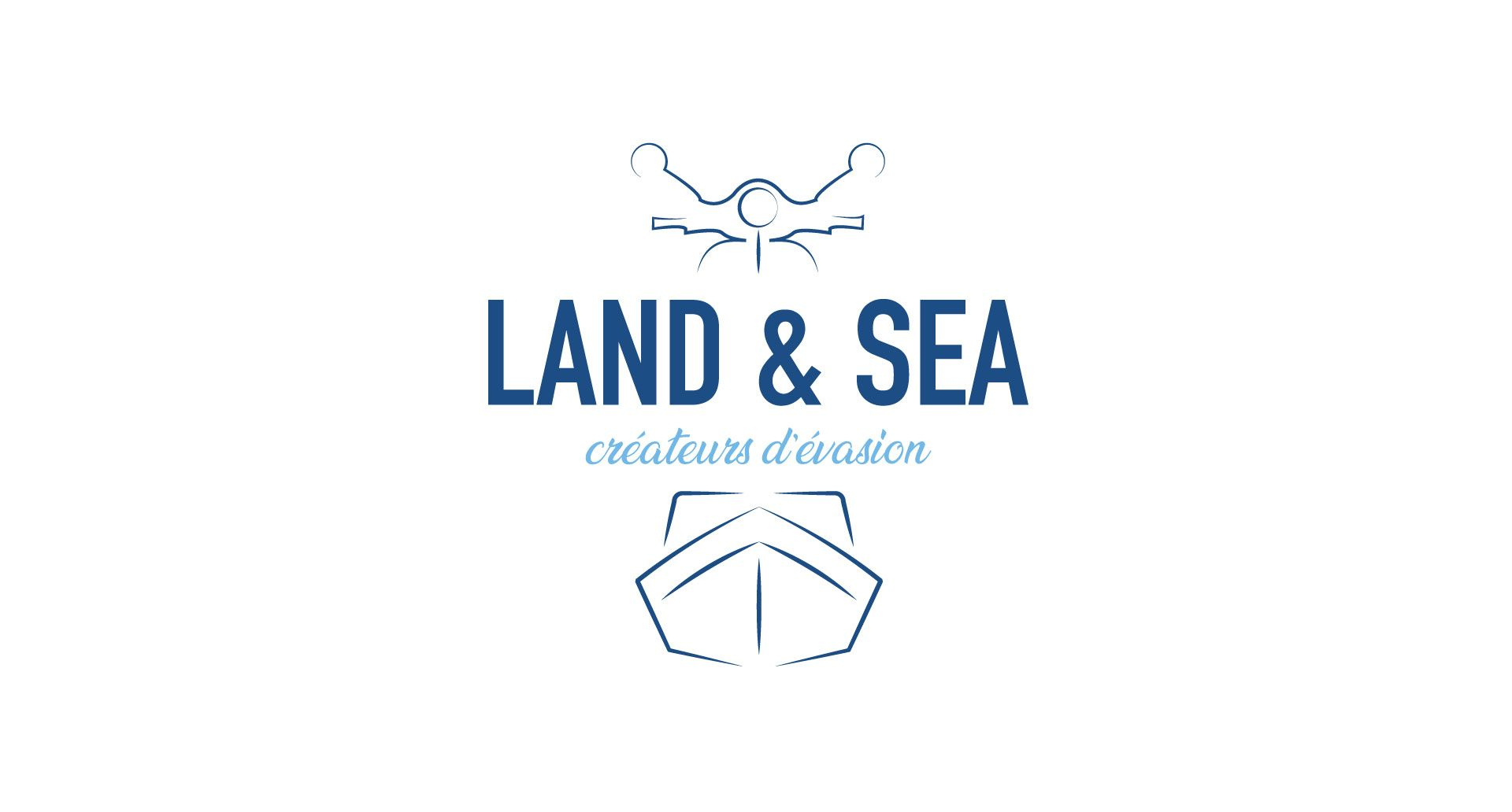 Site Internet pour Land & Sea par l'agence Cassian