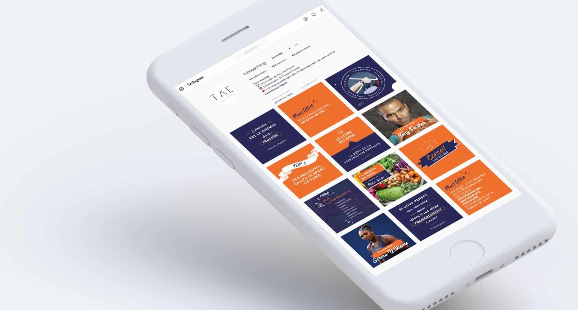 Application Mobile pour TAE par l'agence Cassian