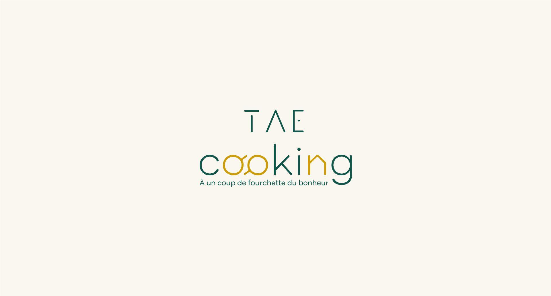 Projet pourTAE Cooking par l'agence Cassian