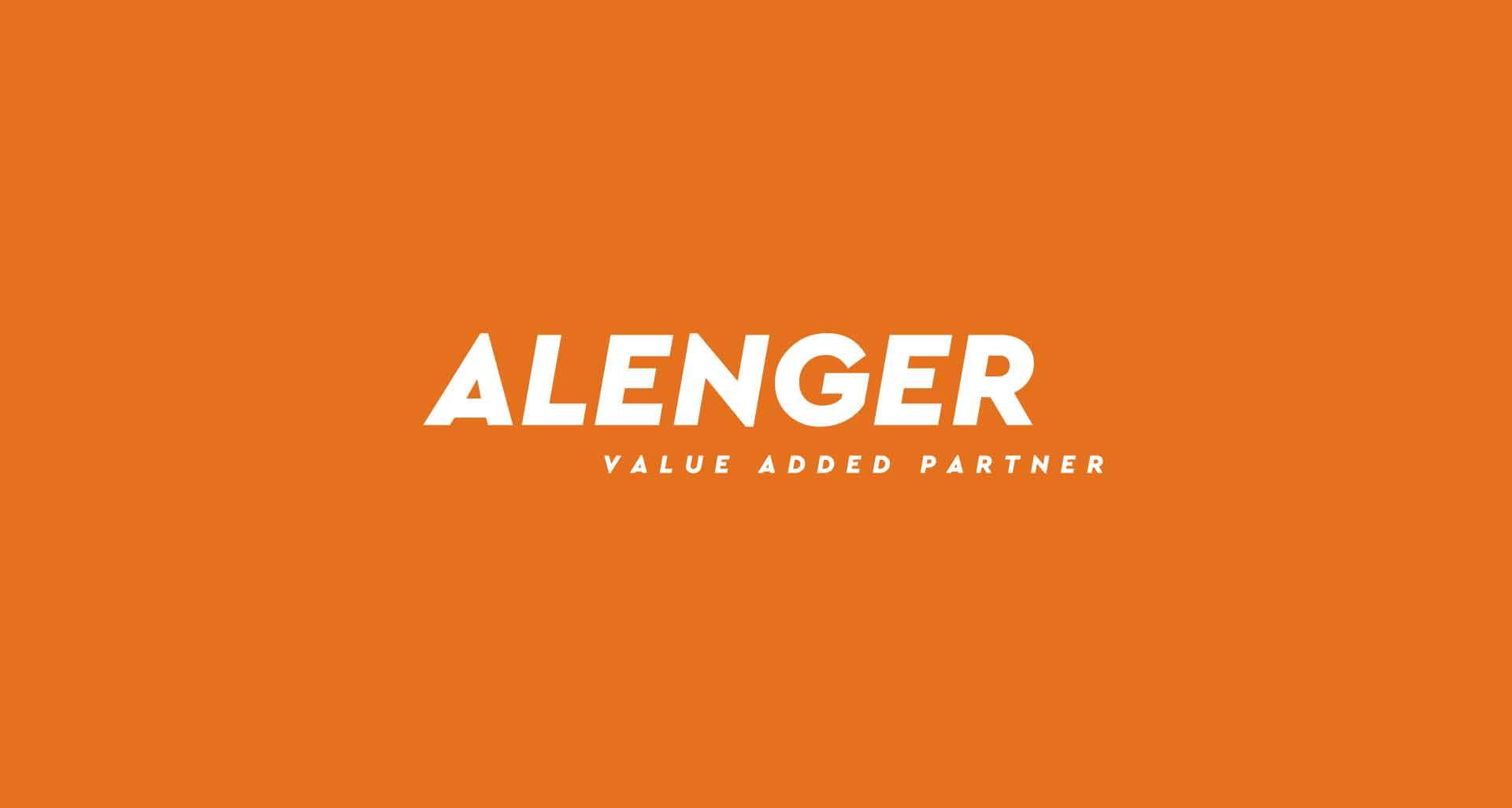Refonte de l'identité graphique pour Alenger par l'agence Cassian
