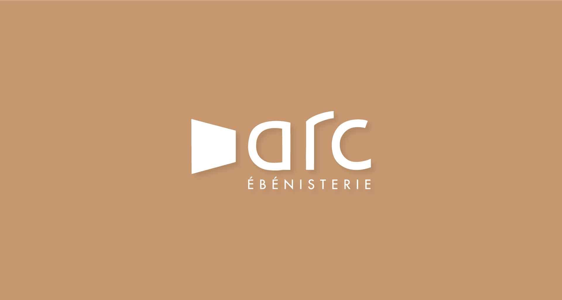 Refonte de l'identité graphique pour Arc Ébénisterie par l'agence Cassian