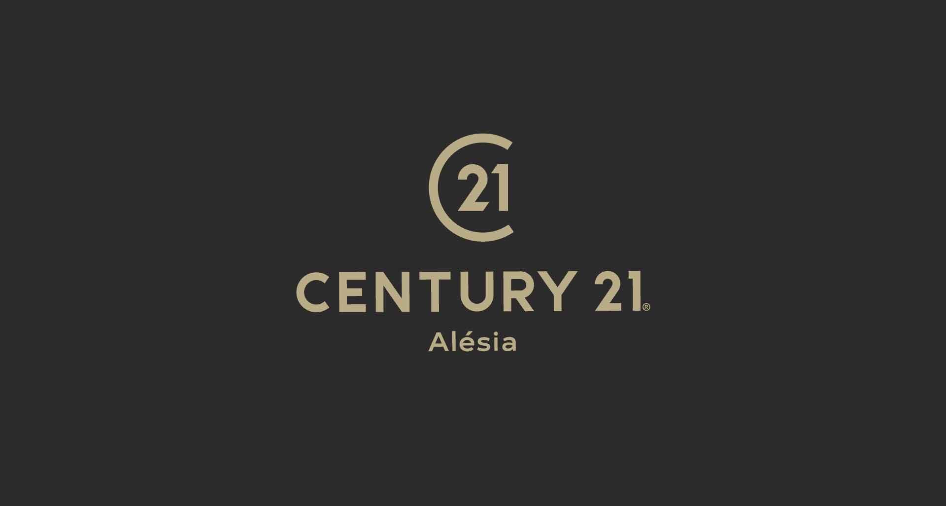 Refonte de l'identité graphique pour Century 21 Alesia par l'agence Cassian