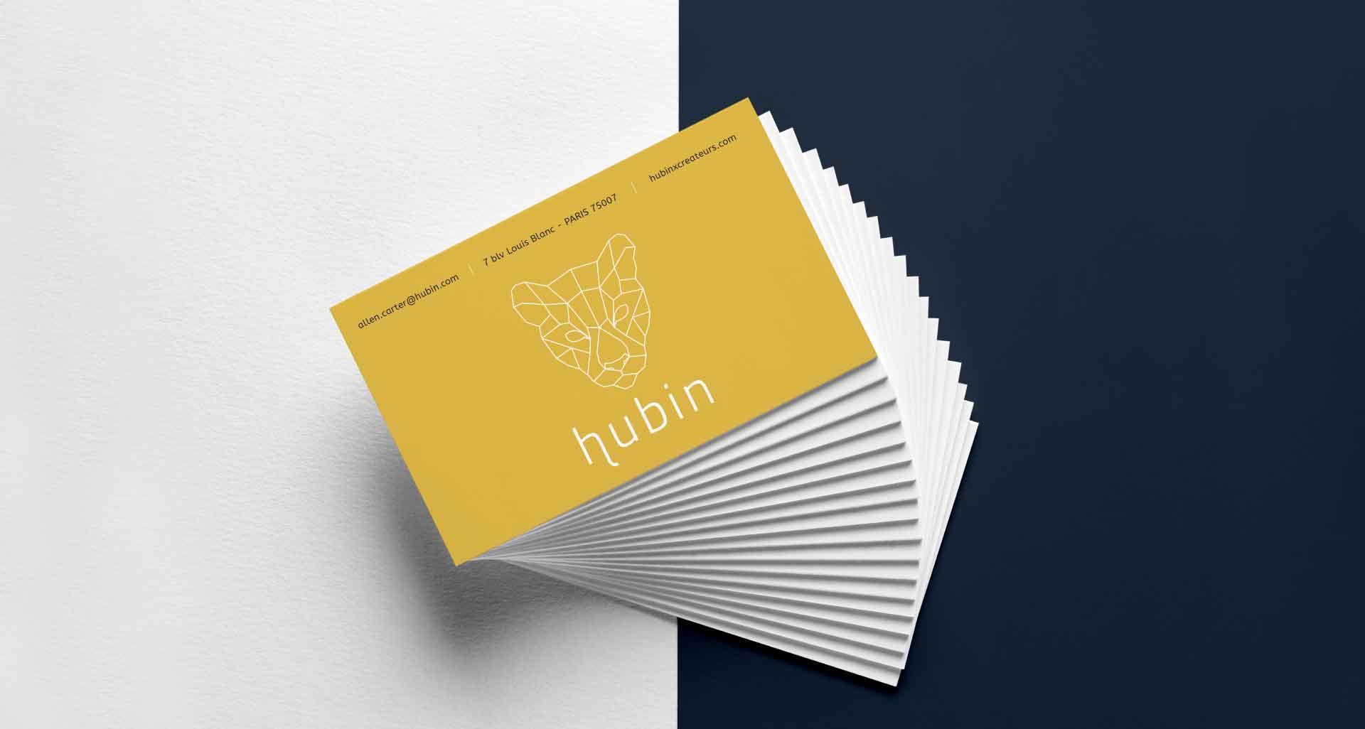 Illustration textile pour Hubin par l'agence Cassian
