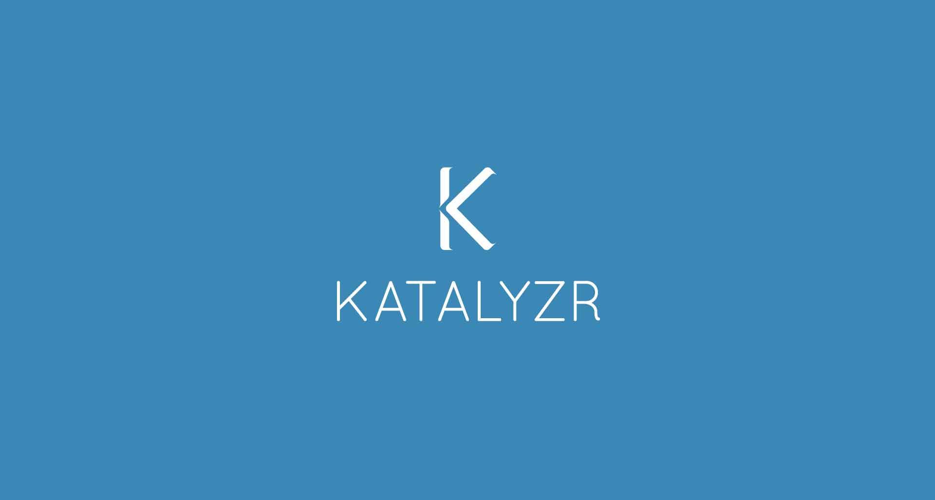 Refonte de l'identité graphique pour Katalyzr par l'agence Cassian
