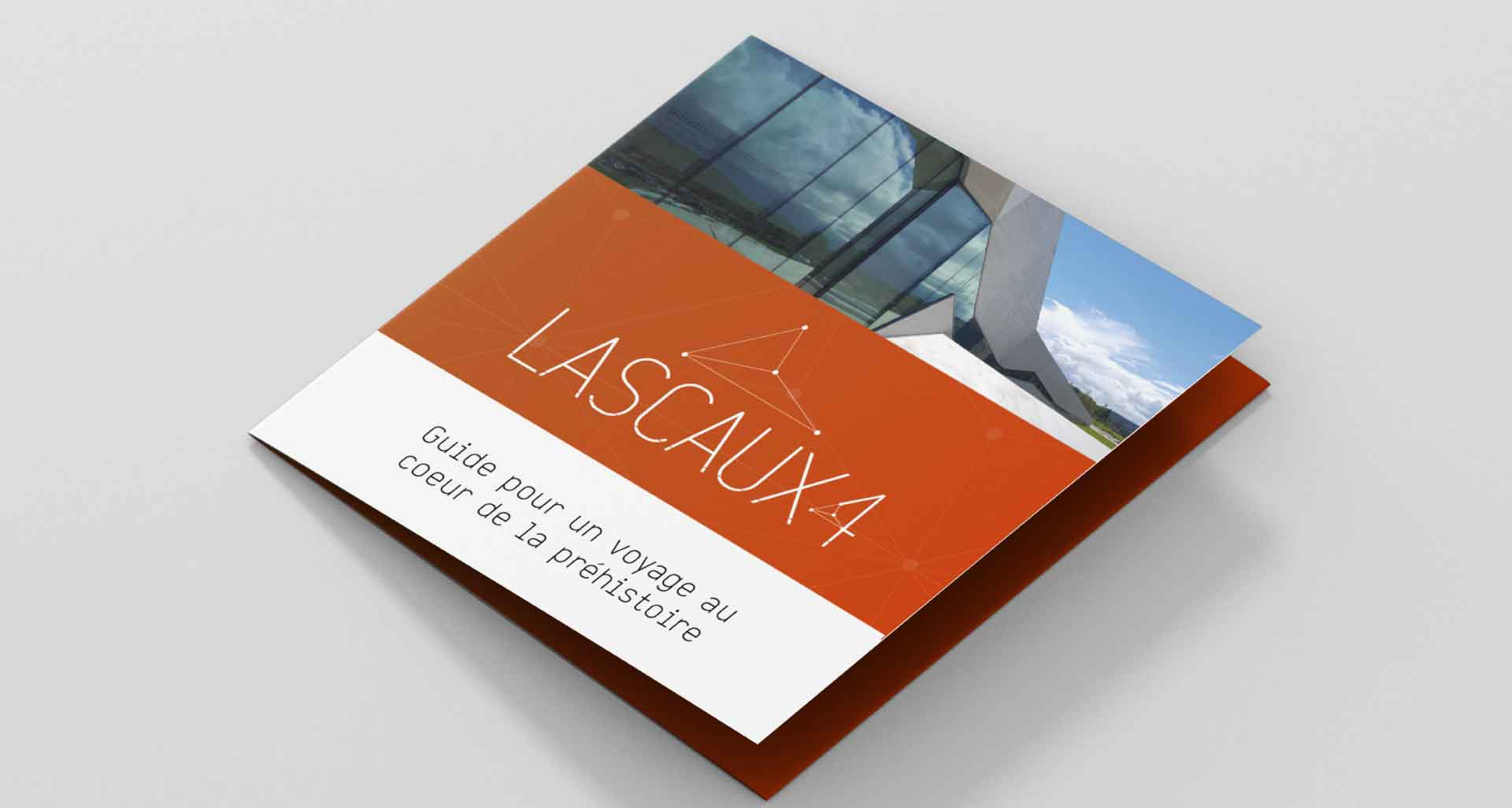Refonte de l'identité graphique pour Lascaux par l'agence Cassian