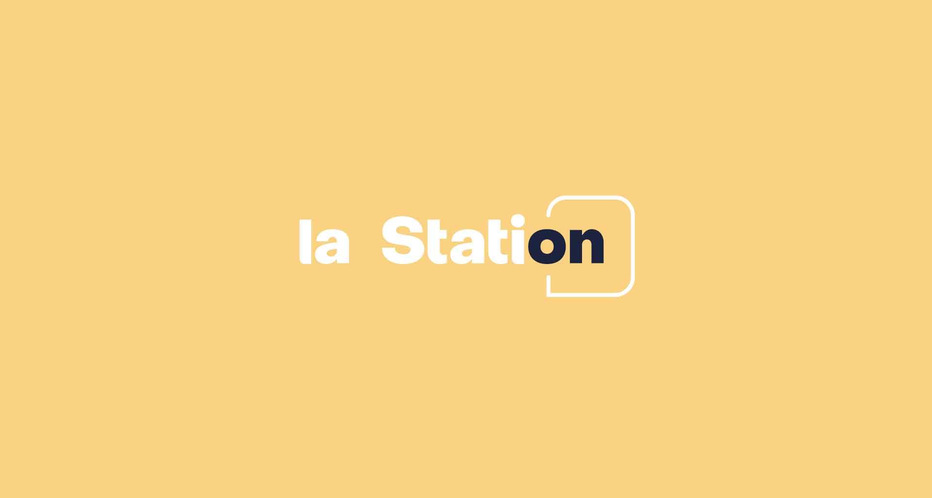 Logo pour La Station par l'agence Cassian