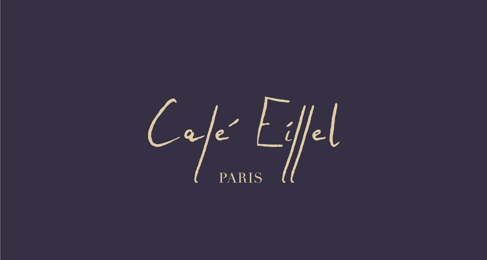 Projet pourCafé Eiffel par l'agence Cassian