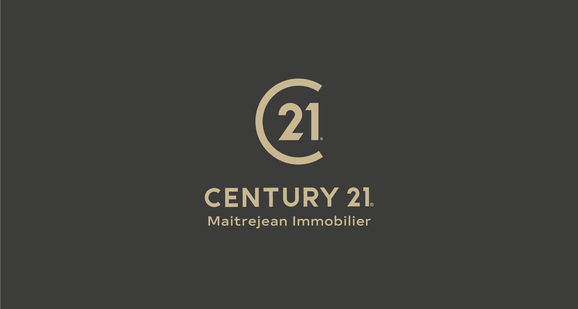 Projet pourCentury 21 Maitrejean immobilier par l'agence Cassian